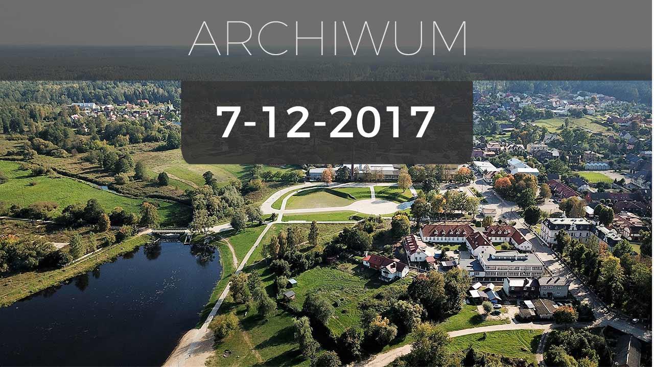 Supraśl | Transmisja obrad sesji Rady Miejskiej Supraśla - 07.12.2017