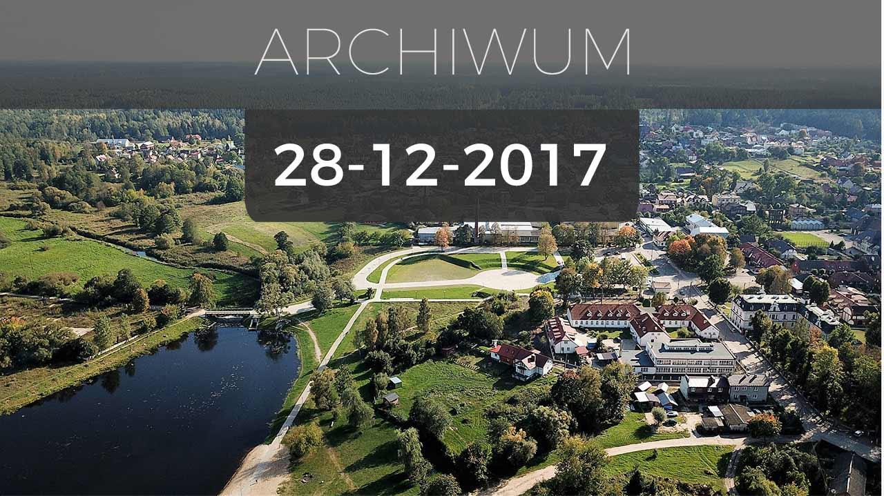 Supraśl | Transmisja obrad sesji Rady Miejskiej Supraśla - 28.12.2017